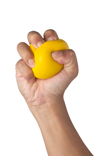 squeeze ball photo
